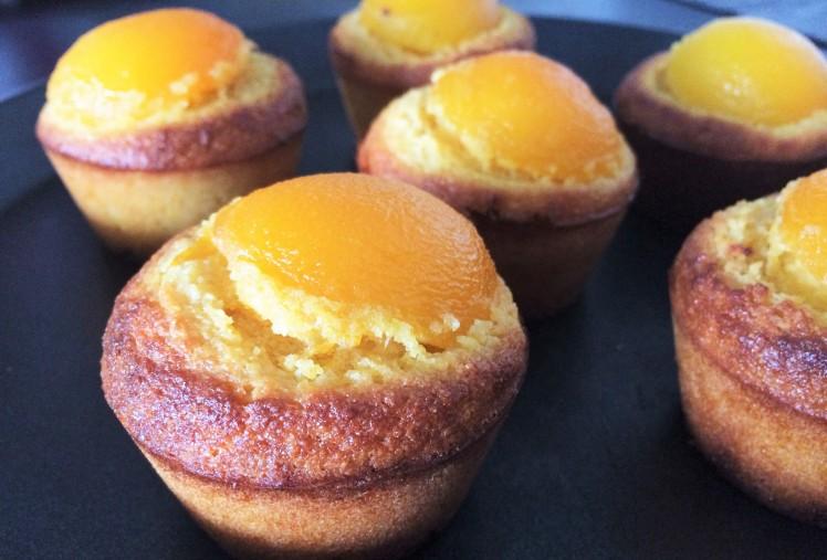 Muffins à la polenta, polenta, muffins, cake