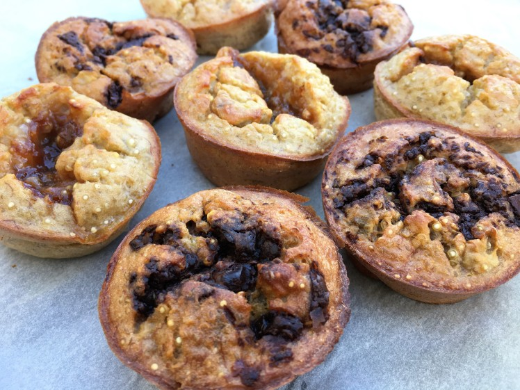 muffins au quinoa